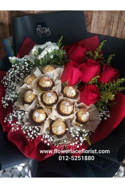 Chocolates Hand Bouquet 11