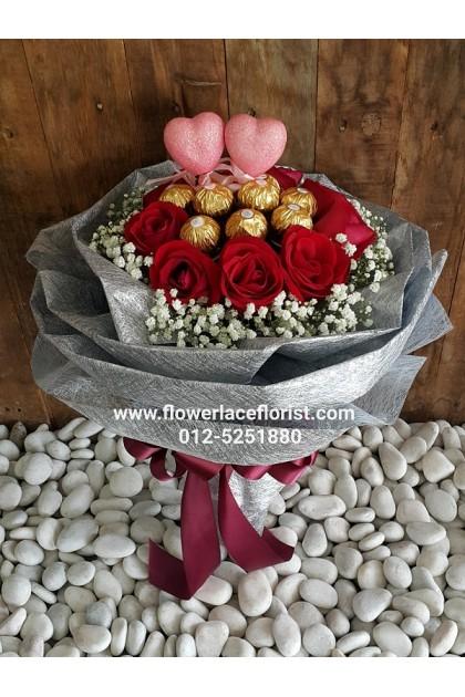Chocolates Hand Bouquet 04